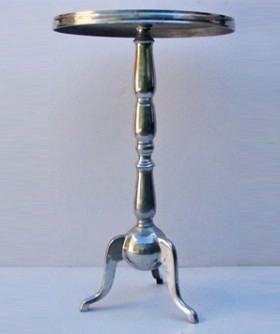 High Chrome Cocktail Table 69 x 60 cm CT003