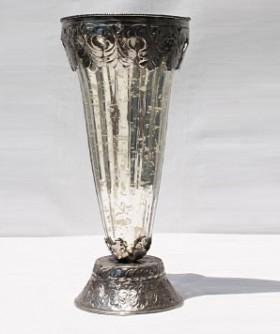 Medium Antic Mirror Vase 28 x 13 cm SW059