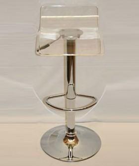 Perspex Clear Cocktail Chair 80 x 34 cm CC012