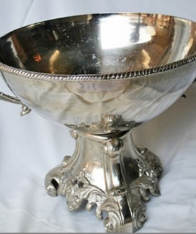 Silver Antique Champagne Bowl 45 x 50 cm SW006