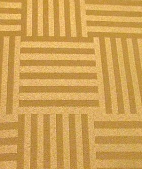 Square Gold Stripe Block Pattern Table Cloth 3m TB011
