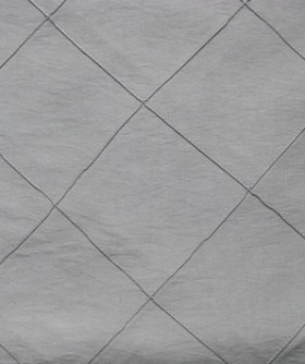 Square Silver Diamond Pattern Table Cloth 3m TB014