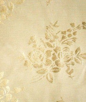 Square White Rose Pattern Table Cloth 3m TB018