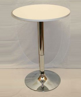 White Top Cocktail Table 92 x 60 cm CT001