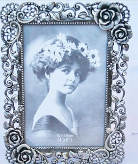 Antique Rose Picture Frame PF012