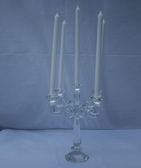 Crystal 5 Arm Candelabra CL101
