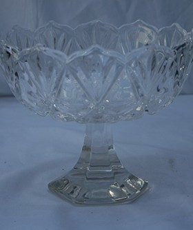 Crystal Fruit Bowl 18 x 21 cm GV0134