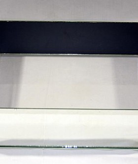 Flat Mirror Box Glass Bottom 10 x 40 cm MB003