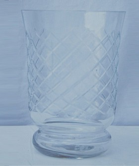 Glass Candle Holder 12 x 15 cm CL094