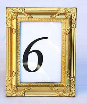 Gold Baroque Frame 23 x 18 cm PF013
