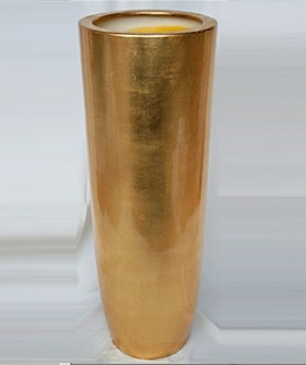 Gold Urn 95 x 35 cm PL002
