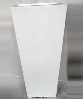 Large Square White French Pot 1250 x 60 cm PL006