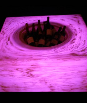 Light Purple Champagne/ Wine Cooler Table LC004