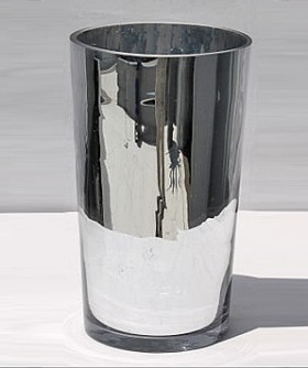 Medium Cylinder Mirror Vase 30 x 18 cm MB008