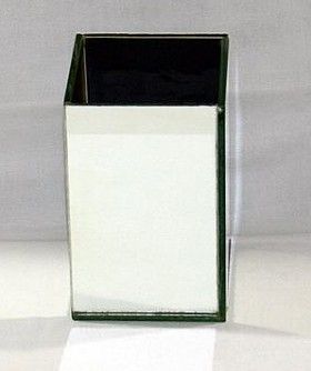 Medium Square Mirror Box 15 x 10 cm MB007