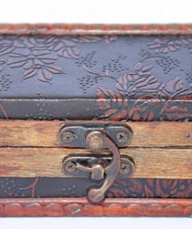 Moroccan Jewelry Box 12 x 22 cm MR014