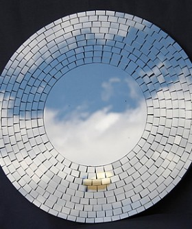 Mosaic Mirror Centre Piece 60 cm MIR006