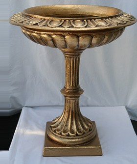 Tall Gold French Urn 63 x 26 cm GLD010